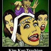 Kim kar trashian deeply in love with herself fame and money 2c8d96