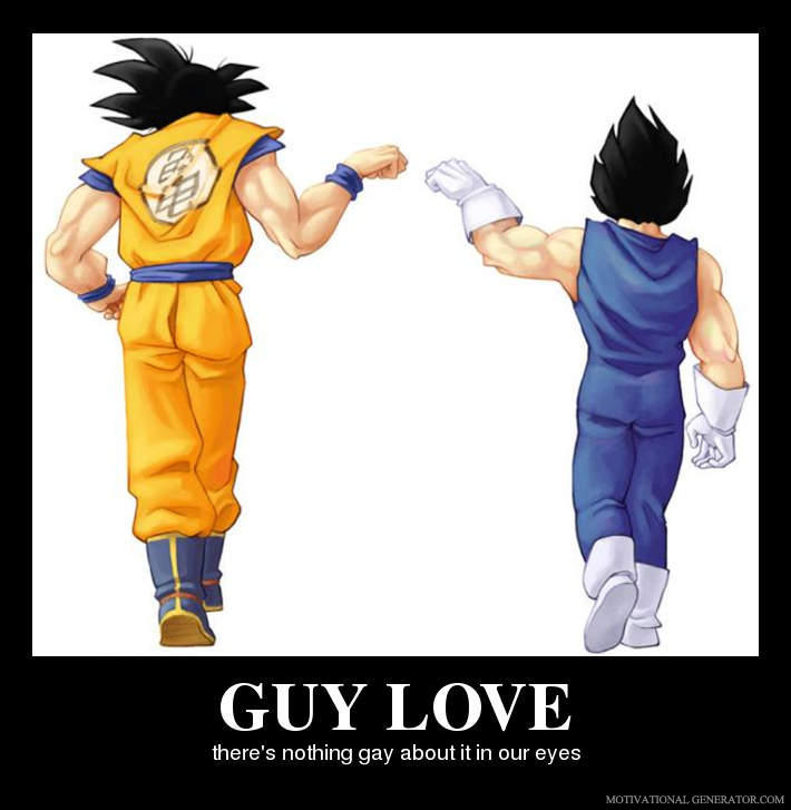 - Its guy love between two guys!