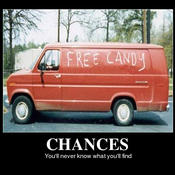 Free candy truck